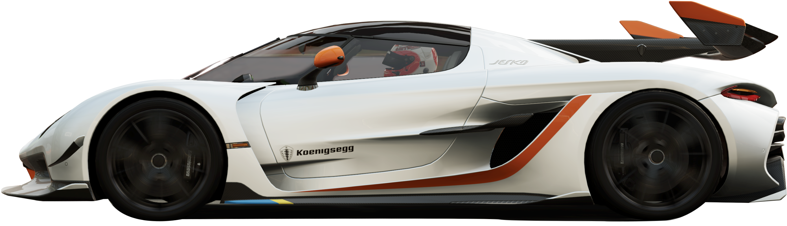 Koenigsegg Jesko side view