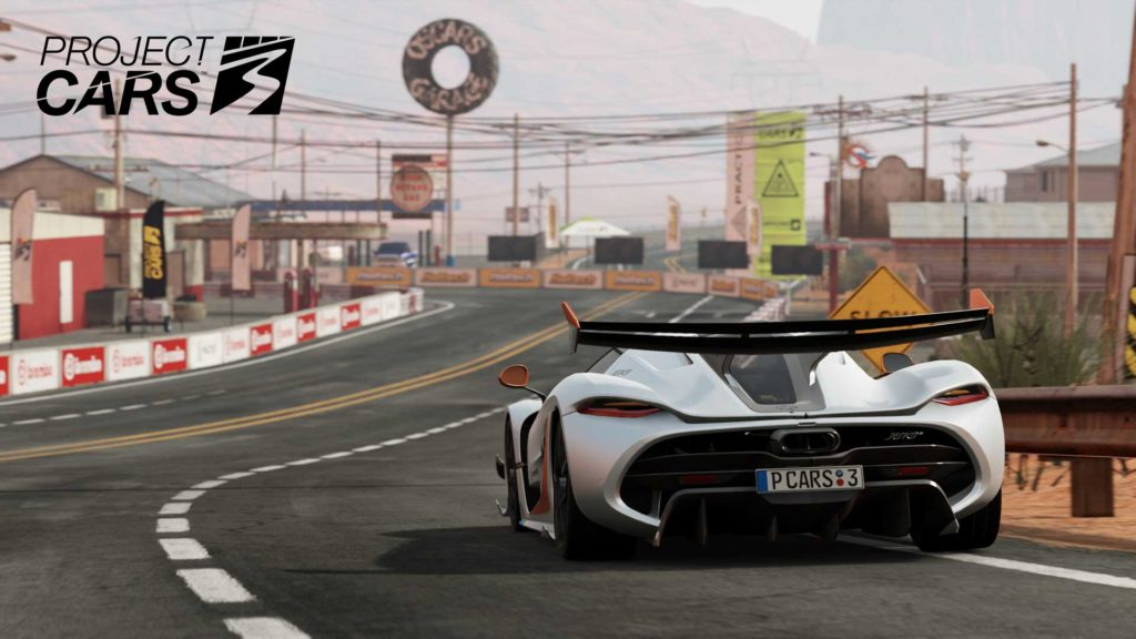 Project CARS3 Koenigsegg Jesko at Monument Canyon