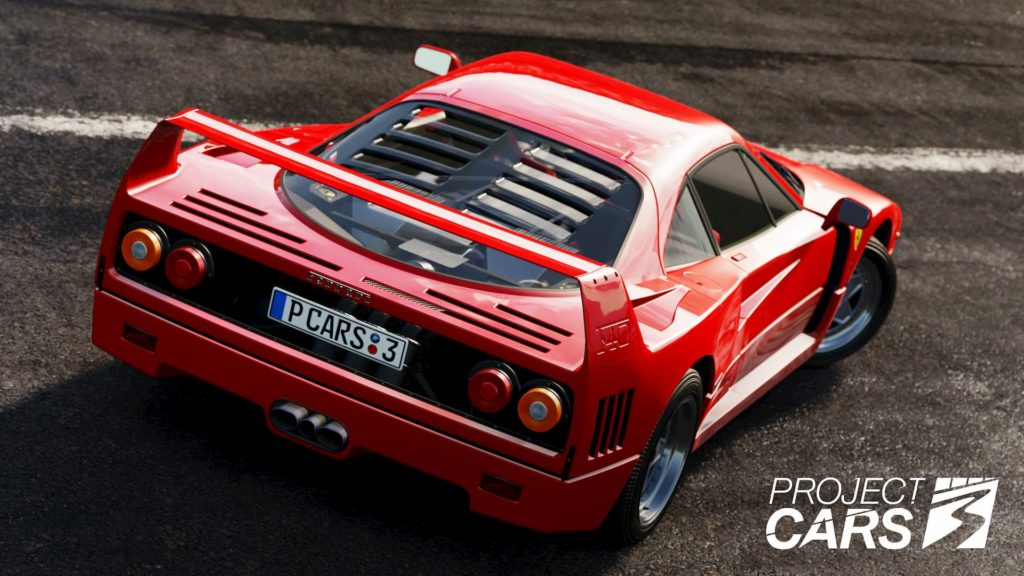 Ferrari F40 at Tuscany in Project CARS 3