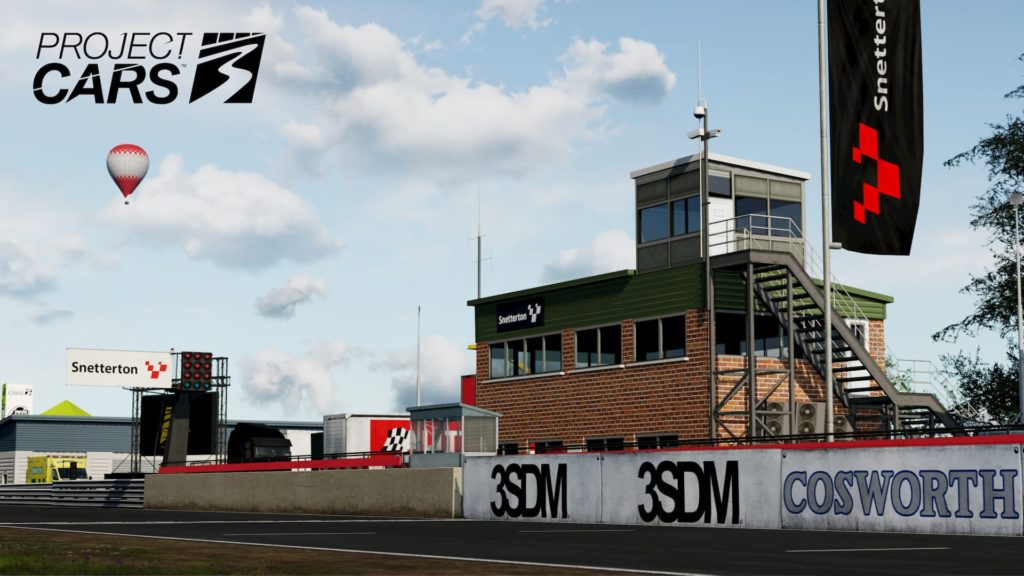 Screenshot of Snetterton in Project CARS 3