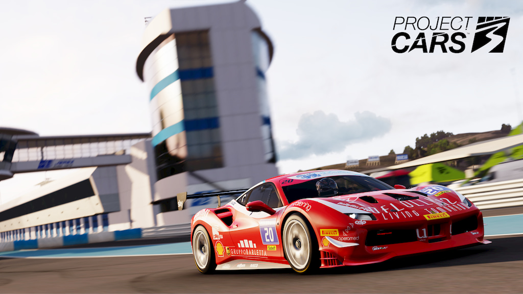 Ferrari 488 Challenge in Jerez - Project CARS 3