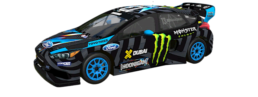 2016 FORD FOCUS RS RALLYCROSS